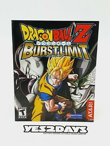 DRAGON BALL Z BURST LIMIT ps3 Game Manual | Excellent Condition