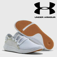✅24Hr DELIVERY✅ UNDER ARMOUR RAILFIT 1 MENS PURE WHITE JOG RUNNING TRAINER SHOES
