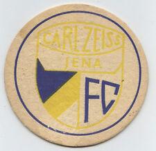 Orig.Bierdeckel    FC CARL ZEISS JENA (DDR)  -  80ziger Jahre  !!  SELTEN