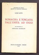 P683-ROMAGNA E TOSCANA-LOTTI LUIGI 1969