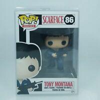 Scarface - Tony Montana Pop! Vinyl Figure #86 NEW Funko Vaulted