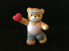 Lucy & Me Jazzercise Bear Valentine Workout Lucy Rigg Enesco 1985