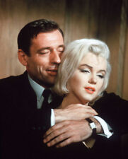 Yves Montand and Marilyn Monroe UNSIGNED photo - L9699 - Let's Make Love