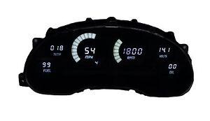 1994-2004 Ford Mustang Digital Dash Panel White LED Gauges Lifetime Warranty