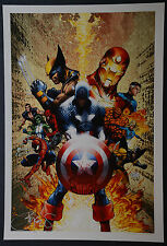 Captain America Michael Turner Aspen Art Print Civil War