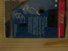 """Kroy 200 210 215 Red on Clear Label Tape 1/2""""X25' by Brother"""