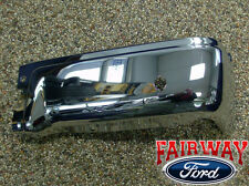 09 thru 14 Ford F-150 OEM Genuine Ford Rear Chrome Step Bumper w/ Prox RH Pass