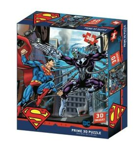 NEW Super 3D 300Pc - Superman Vs Electro from Mr Toys
