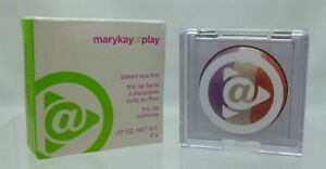Mary Kay at Play Baked Eye Trio SUNSET BEACH Eyeshadow Lot Of 2 NEW