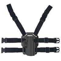 Drop Leg Holster for Glock S&W M&P H&K CZ P09 P07 Sig P320 SD XD P999 Thigh IPSC