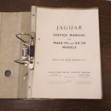 Jaguar Mark VII XK120 orig Service Manual copy klarsichthüllen Werkstatthandbuch