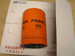 FRAM OIL FILTER; NOS - PH11 LOT OF 5 Fits AMC,IH,Jeep,Studebaker,Olds,Pontiac 4E