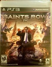 SAINTS ROW IV * PLAYSTATION 3 * BRAND NEW FACTORY SEALED!