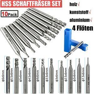 Hartmetall-Stahl-Falzfräser /& 6-Lager-Trimmer-Set 1//4 Zoll Schaft Praktisch