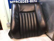 Mercedes W124 Coupe, Sitzbezug Leder schwarz vorn rechts