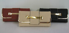 Porte-monnaie et portefeuilles enveloppes noir pour femme