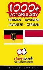 1000+ German - Javanese Javanese - German Vocabulary by Gilad Soffer (2016,.