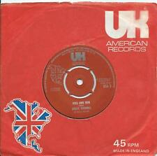 Bruce Channel:Kiss and run/Don't let go:UK American::Popcorn