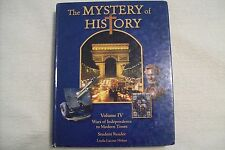 The Mystery of History Vol. 4 by Linda Lacour Hobar Student book & companion CD