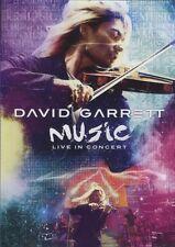 "DAVID GARRETT ""MUSIC LIVE IN CONCERT"" DVD NEW+"