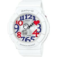 CASIO BABY-G NEON ILLUMINATOR SHOCK  RESISTANT LADIES WATCH BGA-130TR--7BDR NEW