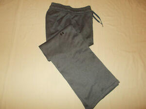 UNDER ARMOUR HEATHER GRAY SWEATPANTS WOMENS XL EXCELLENT CONDITION
