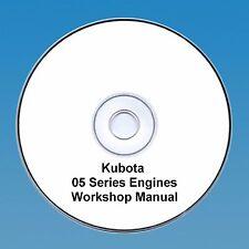 Kubota 05 Series Diesel Engine Workshop Manual