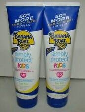Banana Boat Mineral-Based Sunscreen Lotion for Kids, Spf 50+ Lot of 2 Exp:3/22