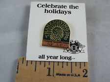 Harley Owners Group Thanksgiving 2000 Pin New On Card