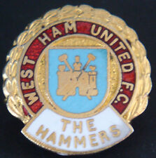 West Ham United FC Vintage Badge Maker Cofre n'ton Broche Pin 25 Mm x 26 mm