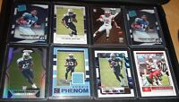 Taywan Taylor Rookie LOT, 8 Rookie Cards, Tennessee Titans, Jersey, Refractor