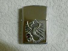 Dragon Lighter with Pewter Dragon