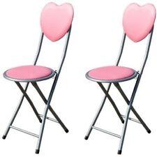 Tavolini e sedie rosa in legno per bambini