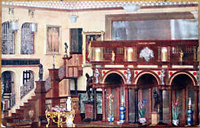 1910 Raphel Tuck Postcard: Titania's Palace - Hall of the Fairy Kiss