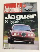 December 1998 Automobile Magazine Jaguar S Type Honda Roadster Vintage