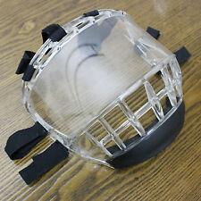 Clear Face Protection Shield Mask Cover Guard MMA TKD Karate Chanbara HKD L Size