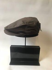 Preformed Flat Cap Brown Men's Peaky Blinders Gatsby Newsboy Drivers Hawkins Hat