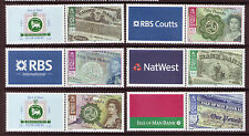 Isle of Man 2008, banconote dell' isola di Man Unmounted MINT