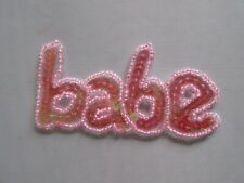 SEW-ON SEQUIN & BEAD BABE PATCH