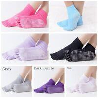 Women Yoga Massage Ankle Cotton Dots Pilates Anti slip Dance Floor Socks
