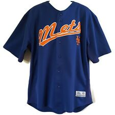 NY Mets Johan Santana #57 Jersey Baseball Genuine Button Front S/S Men's XL