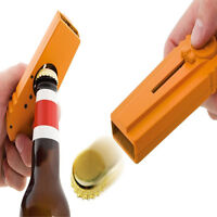 Beer Bottle Opener Cap Launcher Shooter By Spinning Hat Fire Cap Shoot US Ship