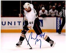 Anaheim Ducks SHELDON SOURAY Signed Autographed 8x10 Pic B