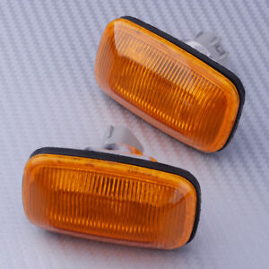 2 Pieces Fender Turn Signal Side Marker Lamp Light Fit For Toyota Land Cruiser