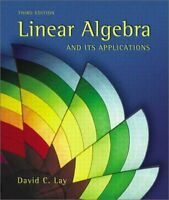 Linear Algebra and Its Applications by David C. Lay (2002, Hardcover)