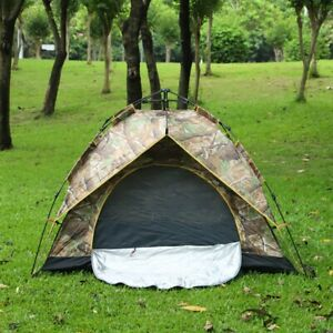 3-4 Personen Wurfzelt Pop Up Automatikzelt Campingzelt Kuppelzelt Trekkingzelt