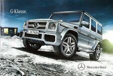Prospekt/brochure Mercedes G-clase 12/2011