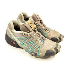 Salomon Speedcross 3 Mens Brown Black M&S Contagrip Ortholite Running Shoes 7.5