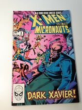 X-Men and the Micronauts  #4 in a 4 Issue Limited Series April 1984