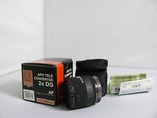Sigma EX Teleconverter 2x APO Lens For Canon